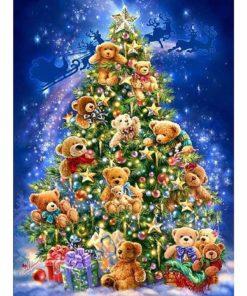 Kerstboom teddyberen