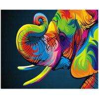 Kleurrijke Olifant
