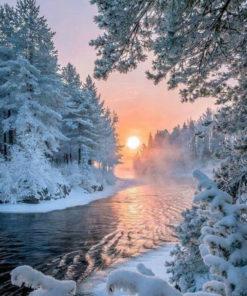 Winter Wonderland Diamond Painting
