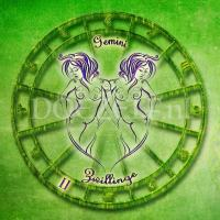 Tweeling Gemini - Diamond Painting