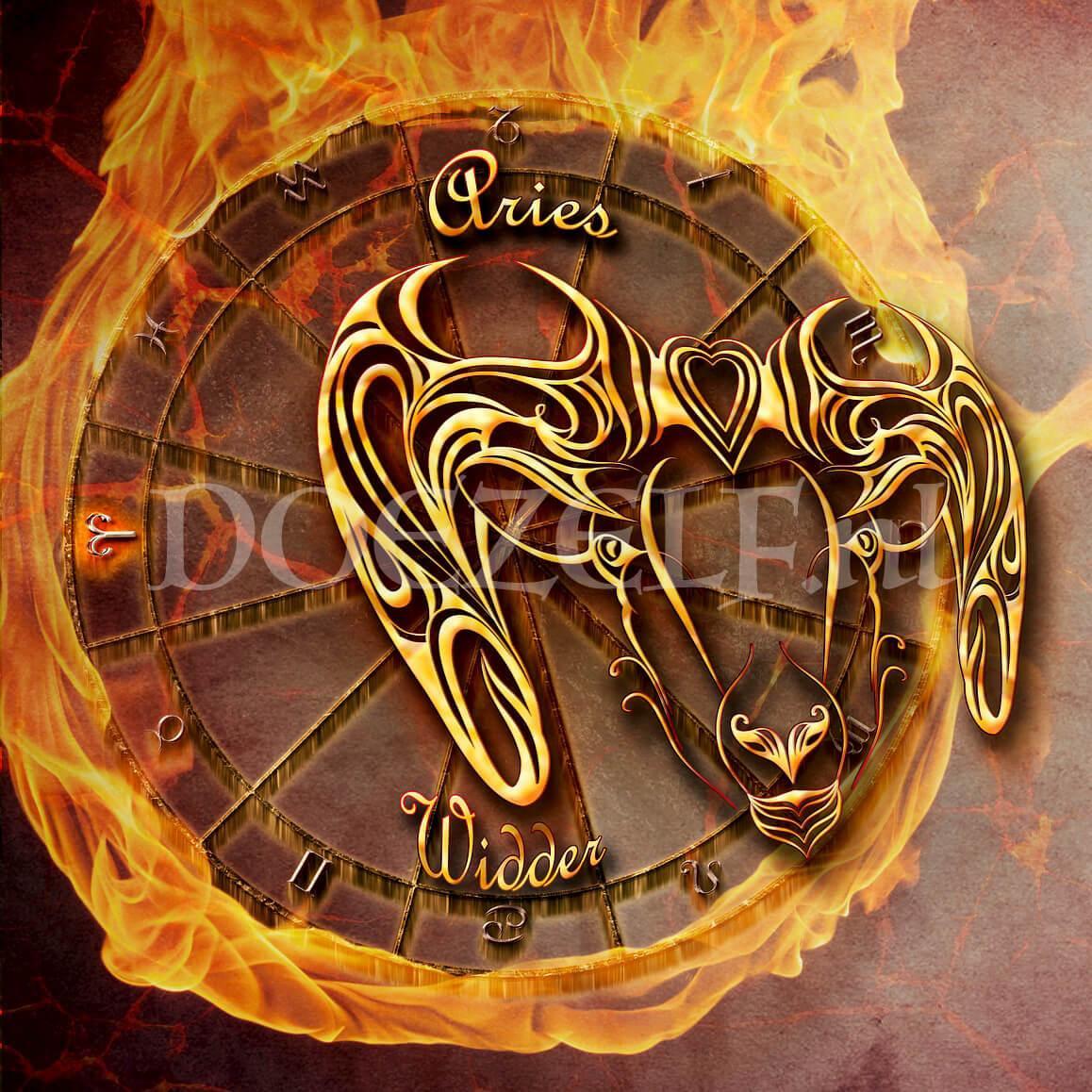 Ram Aries Diamond Painting