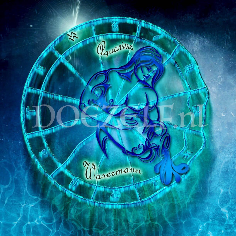 Waterman - Aquarius Diamond Painting