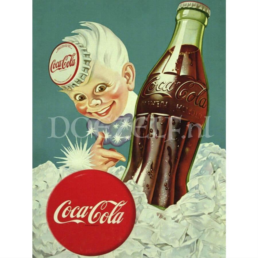 Coca-Cola muurplaat Diamond Painting