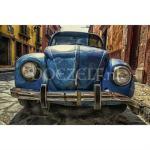 Blauwe volkswagen Kever - Diamond Painting