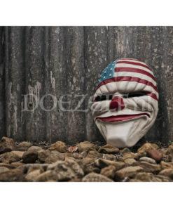 Amerikaans Clownmasker - Diamond Painting