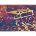 Volkswagen T1 Hippie - Diamond Painting