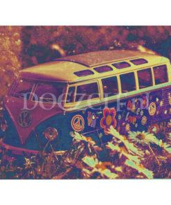 Volkswagen T1 Hippie - Diamond Painting