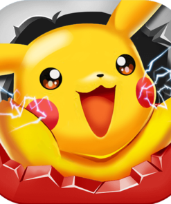 Juichende Pikachu Diamond Painting