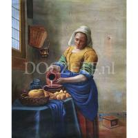 Het Melkmeisje Johannes Vermeer - Diamond Painting