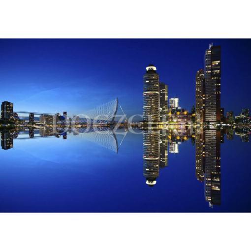 Skyline Rotterdam Erasmusbrug Diamond Painting