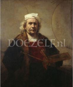 Zelfportret Rembrandt van Rijn Diamond Painting