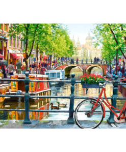 Amsterdamse gracht Diamond Painting