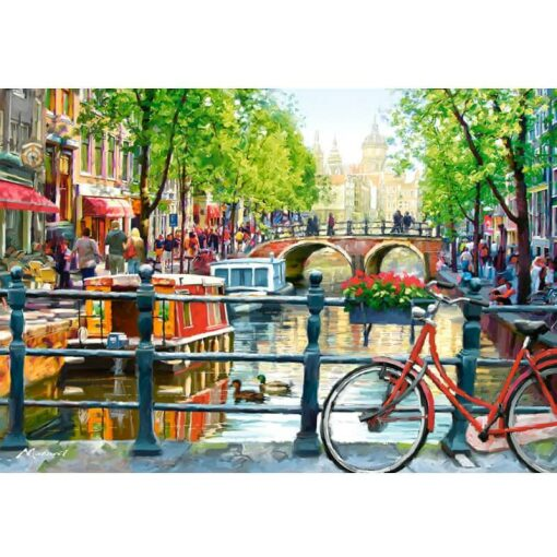 Amsterdamse gracht Diamond Painting