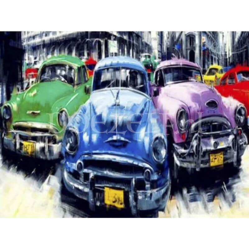 Classic Cars Diamond Painting