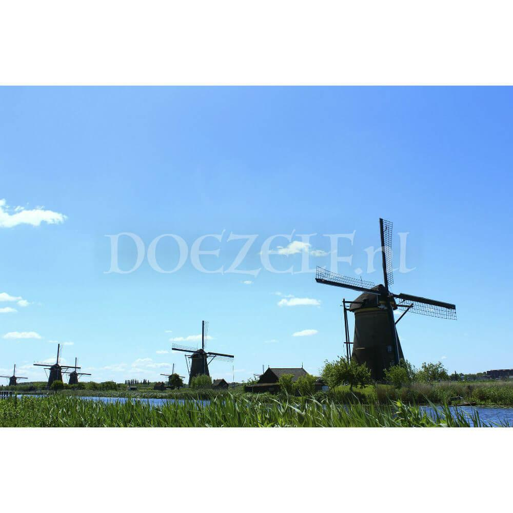 Molens Kinderdijk - Diamond Painting
