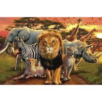 Afrikaanse dieren Big Five Diamond Painting