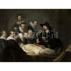 Anatomische les van Dr. Nicolaes Tulp Diamond Painting