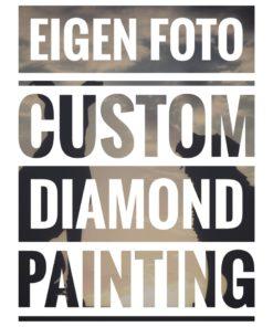 Eigen custom diamond painting
