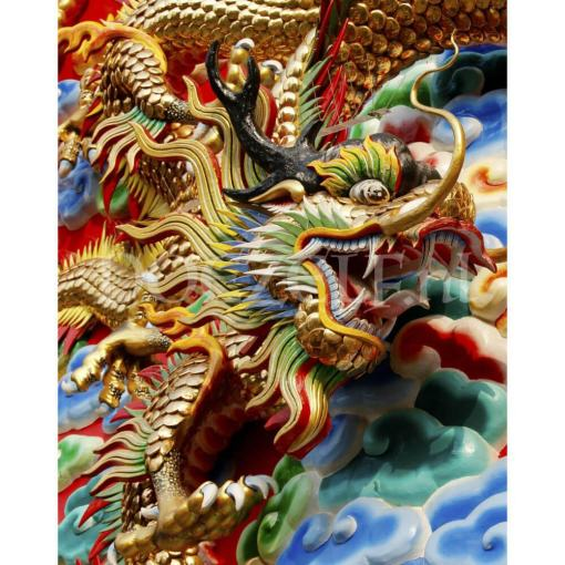 Chinese Draak Diamond Painting