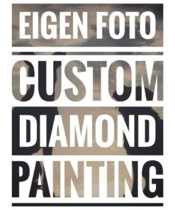 Eigen foto Custom Diamond Painting