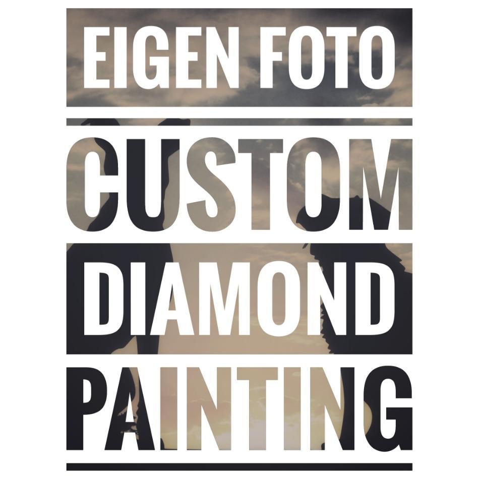 Eigen foto Custom Diamond Painting