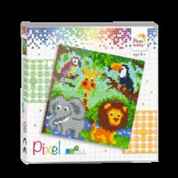Pixelhobby set Jungle Dierenrijk