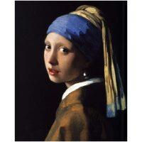 Meisje met de parel van Johannes Vermeer Diamond Painting
