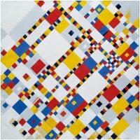 Victory Boogie Woogie Mondriaan Diamond Painting