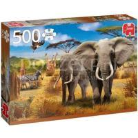 African Savannah Puzzel 500 stukjes