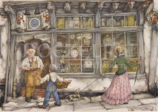 Anton Pieck The Clock Shop Puzzel 1000 stukjes