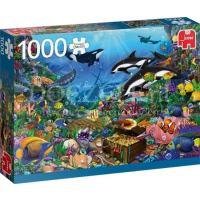 Jewels of the Deep Puzzel 1000 stukjes