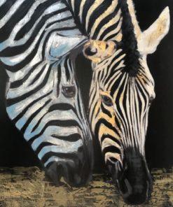 Zebra koppel Diamond Painting