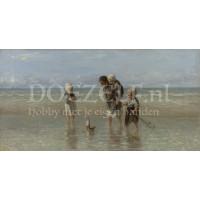 Kinderen aan zee van Jozef Israëls