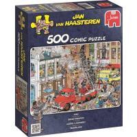 Jan van Haasteren Brand meester Puzzel 500 stukjes