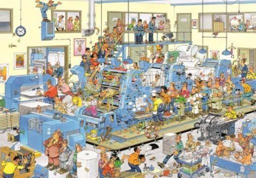 Jan van Haasteren De Drukkerij Puzzel 3000 stukjes