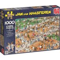 Jan van Haasteren De Tennisbaan Puzzel 1000 stukjes