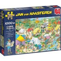 Jan van Haasteren Kamperen in het Bos Puzzel 1000 stukjes