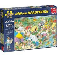 Jan van Haasteren Kamperen in het Bos Puzzel 2000 stukjes
