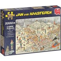 Jan van Haasteren Nieuwjaarsduik Puzzel 2000 stukjes