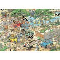 Jan van Haasteren Safari & Storm 2in1 Puzzel 2×1000 stukjes