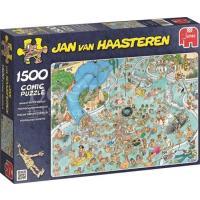 Jan van Haasteren Tropisch Zwemparadijs Puzzel 1500 stukjes