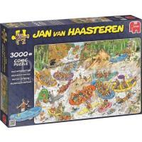 Jan van Haasteren Wild Water Raften 3000 stukjes