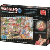 Wasgij Mystery 15 Een echt Britse BBQ Puzzel