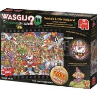 Wasgij Xmas 14 Santa's helpertjes Puzzel 2×1000 stukjes