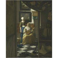 De Liefdesbrief van Vermeer Diamond Painting
