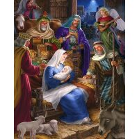 Maria met Jezus Diamond Painting