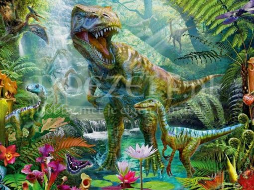 Dinosaurus wereld Diamond Painting