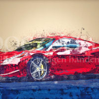 Ferrari Diamond Painting