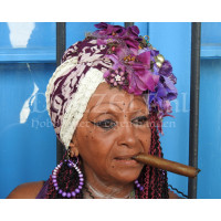 Cubaanse vrouw Diamond Painting