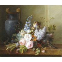 Boeket met bloemen Van Spaendonck Diamond Painting